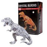 Crystal Puzzle 3D Dinosaur 50pcs Jigsaw Funtime Kid's Brain Teaser Game