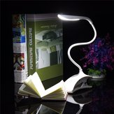 Dimmable USB Rechargeable Touch Sensor LED Clip on Table Desk Light