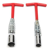 16mm&21mm T-Bar Universal Spark Plug Spanner Socket Wrench T-Handle Removal Tool