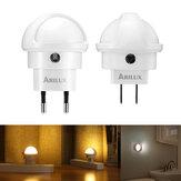 1X 2X 3X 5X ARILUX® 360 Degree Rotation Smart Light Sensor LED Plug-in Wall Night Lamp for Bedroom