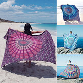 Honana WX-17 150x210cm Bohemian Style Polyester fiber Beach Towel Mandala Rectangle Bed Sheet Tapestry
