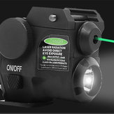 Original 180ml Verde Láser Sight Beam Dot Scope LED Linterna para 20 mm Tactical Picatinny Rail Mount