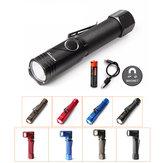 Original Nicron B74 XPL HD V5 480LM 4Modes Dimming Magnetic Tail 90° Adjustable Head Portable LED Flashlight