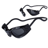 OBAOLAY SP0901 Magnetic Buckle Windbreak Sand-binding Dustproof Sunglasses for Outdoor Cycling Fishing