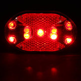 Bicycle 7 Modes 9 LED Super Bright Warning Tail Rear Light Lamp