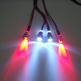 Rc Car Front and Rear Lights Model Car Four Lights