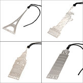 Creative Bookmark with Paris Pisa London NY Statue Souvenir  Gift