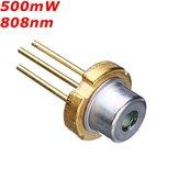 TO 18 808nm 500mW Infrared IR Laser Diode Laser Module Generator
