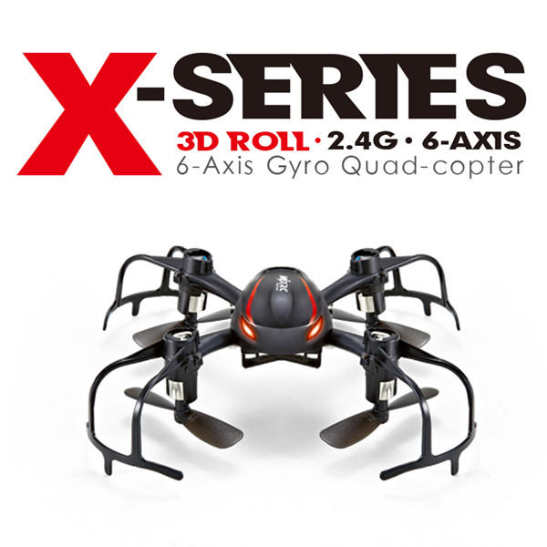 MJX X902 Spider X-SERIES 2.4G 4CH 6Axis 3D Flip Mini RC Quadcopter RTF
