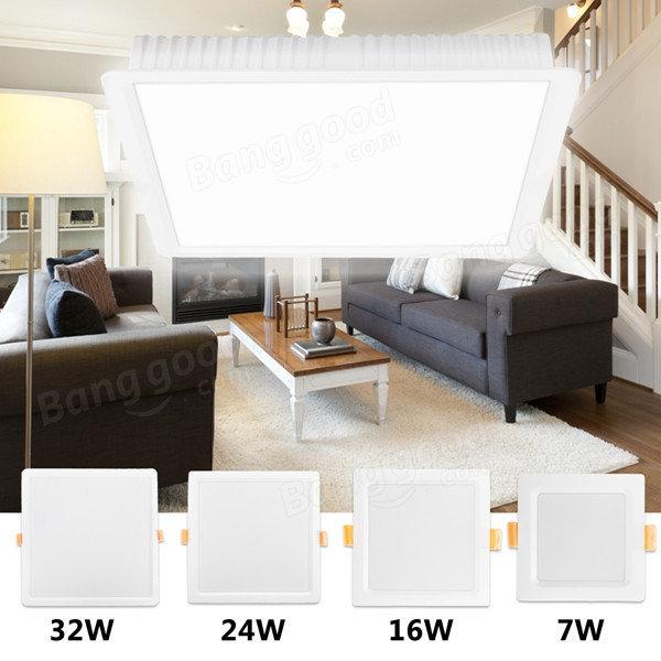 7W 16W 24W 32W Square LED