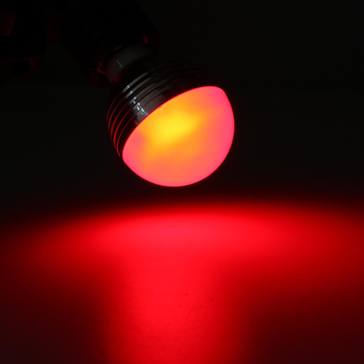 E27/B22/GU10/E14 5W RGB LED Light Color