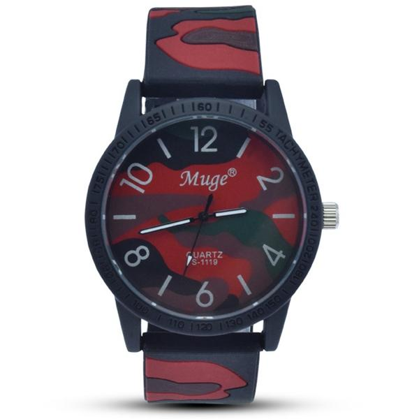 Muge Camouflage Casual Men Watch Sport
