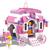COGO Girl Series 13263 Cinderella Make-up 512 stuks bouwstenen sets Bricks Toys Cadeaus voor Meisjes