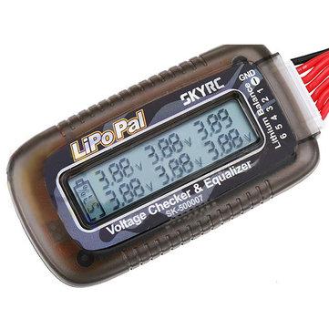 BCA1201 lipopal voltaje auto balanceador 2-6s lipo para comprobador de voltaje de batería