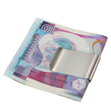 Stainless Steel Money Clip Credit Card