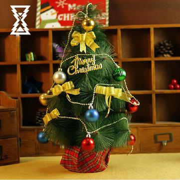 45CM Korean Desktop Noel Ağacı Ev Ofis Mağazası Bar Dekorasyon
