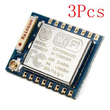 3Pcs ESP8266 ESP-07 Remote Serial Port WIFI Transceiver Wireless Module