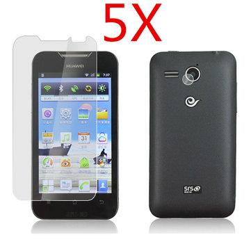 5X haute luminosité protecteur d'écran transparent pour Huawei c8810