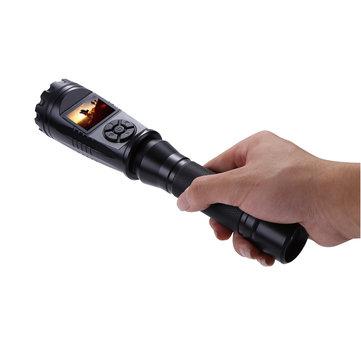 AURKTECHHD1080PIP56WaterdichtVideo Geluid SOS Funtion Camera Recorder Zaklamp