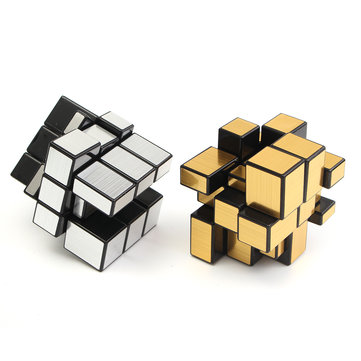 3x3x3 Mirror Magic Speed Cube Ultra-smooth Professional Puzzle Twist Toy Gift 1106957