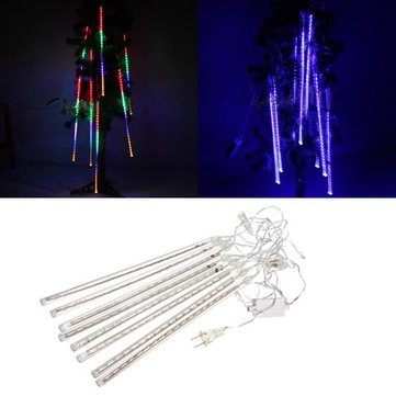 LED Waterproof Meteor Shower Rain Tube Light Snowfall Christmas Lamp Decor Outdoor 100-240V
