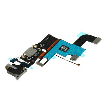 USB laadlader Port Dock Connector Flex Kabel Grijs Mic voor 4,7 inch iPhone 6
