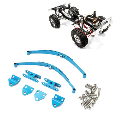 1/10 Leaf Springs Set HighLift Chassis Voor 1/10 D90 RC Crawler Car Parts Blue