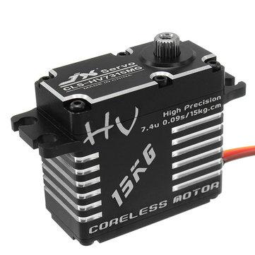 JX CLS-HV7315MG 15KG HV Hoog Precisie Staaluitrusting Digitale Coreless Servo