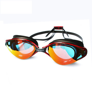 Copozz Summer HD Plating Goggles Zwembroeken Platte Licht Waterdichte Silicone Anti Fog Anti-UV Duiken