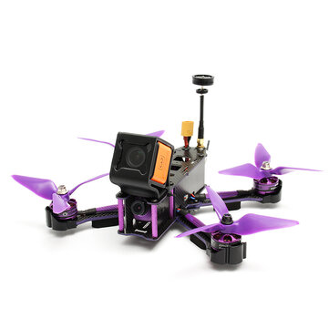 Buy Eachine Wizard X220S FPV Racer RC Drone Omnibus F4 5.8G 72CH 30A Dshot600 2206 2300KV 800TVL CCD ARF for $175.99 in Banggood store