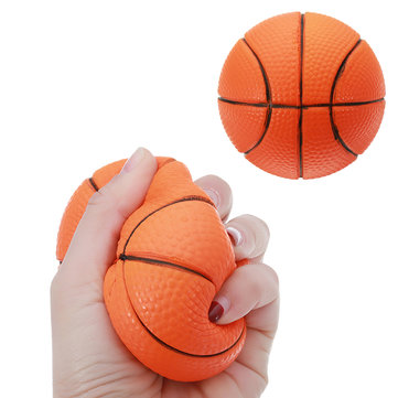 Squishy PU Basketball 9cm Slow Rising Collection Gift Rebound Funny Kids Toy