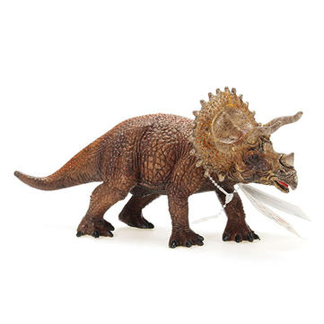 Cikoo Jurassic World Park Triceratops Plastic Dinosaur Toys Model Action Figures Boys Gift