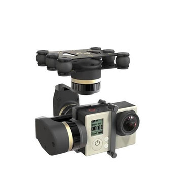New Version Feiyu Tech FY MiNi3D 3 Axis Gimbal For GoPro4 GoPro3+ GoPro3 Sport Camera