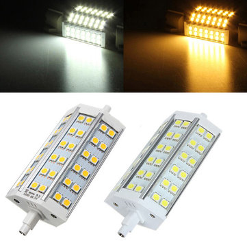 R7S Dimmable 118MM LED Bulb 8W 36 SMD 5050 White/Warm White Floodlight Corn Lamp AC85-265V