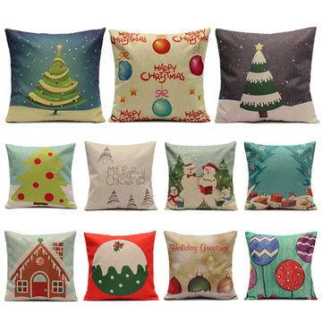 Christmas Candy Series Pillow Cases Home Sofa Square Cushion Cover 1004989