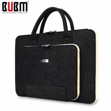 BUBM 13 pollici Mult-Color Capelli Feltro Shockproof Resistance Spill Resistenza Laptop Pacchetto interno Borsa per Macbook