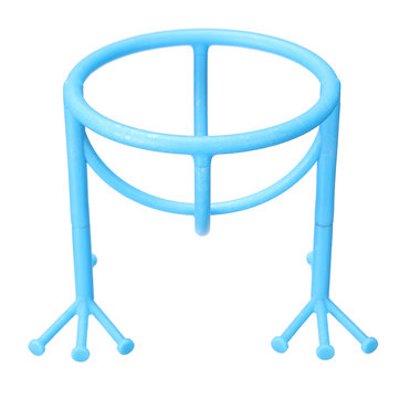 Makeup Sponge Drying Racks Anti-mildew Egg Powder Puff Display Stand Holder Plastic Blue Pink