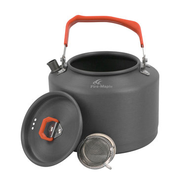 Fire Maple 1.5L Camping Picnic Kettle Thee Pot Met hittebestendige Handle theezeefje FMC-T4