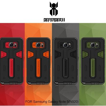 Nillkin Defender Stand Shockproof Hybrid Armor Hard Cover Case for Samsung Galaxy Note 5