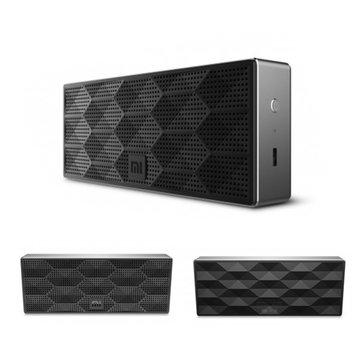 1200mah de xiaomi originale carré noir portable sans fil Bluetooth 4.0 haut-parleur