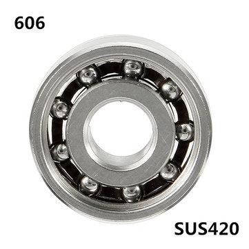 6x17x6mmAISI420Aceroinoxidable606rodamiento de bolas Nano Bolas de acero para Fidget Hand Spinner