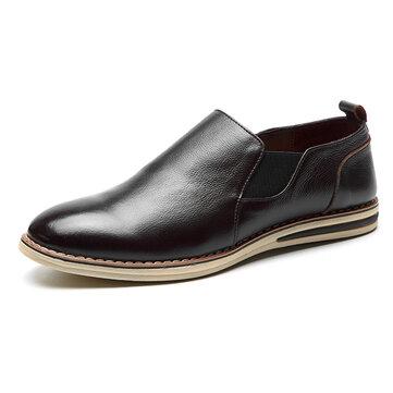 MannenOrigineleLeatherCasualSlipOn Business Oxfords Shoes