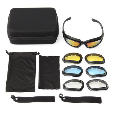 Motorcycle Sun Glassess Sand Storm Sports Riding Goggles Eye Protection Glasses Male And Female Generi