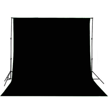 Buy 3x2.6M Black Photography Studio Background Backdrop for $39.99 in Banggood store