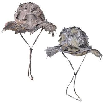 AURKTECH Hunting Outdoor Fashion Jungle Field CS Camouflage Shade Shampoo Big Fallen Leaf Cap