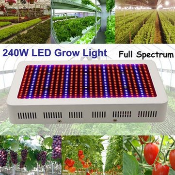 240W Gardening Full Spectrum LED Plant