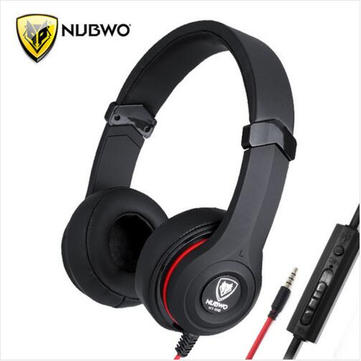 NUBWO NT-910 Single Jack Headset With Mircrophone For Cellphone Tablet PC