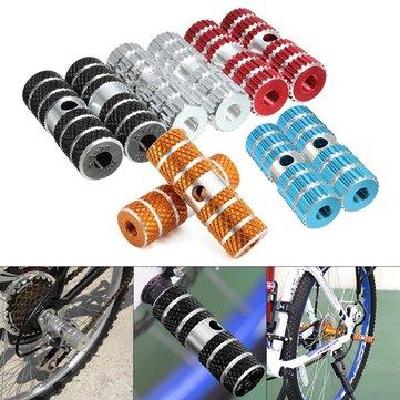 Clavijas del pie del eje de los pedales de la bicicleta de 2PCs para la bici de la bicicleta de BMX que completa un ciclo la aleación de aluminio Multicolors