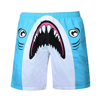 Buy Mens Quick Drying Printing Beach Swimming Surf Shorts Personality Loose Fit Casual Knee Length for $20.75 in Banggood store