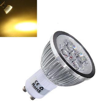 عكسالضوءGU104W4LEDدافئ أبيض ضوء ليد بقعة لمبة 220V
